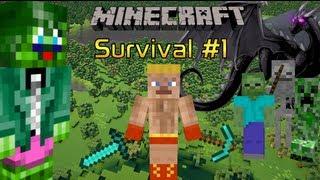 Minecraft (Xbox 360) Survival Part 1: New Hopes, New Goals, New Dreams