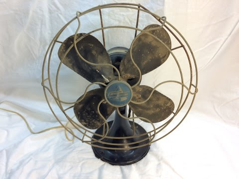 1949 Emerson Desk Fan Restoration - Part II (Disassembly)