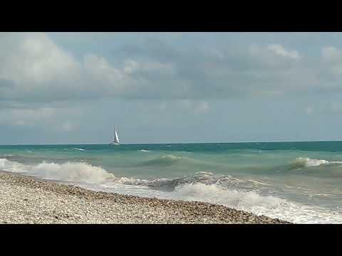 #Пляж, #набережная, #море, #яхты 01.07 #2019 #Шепси