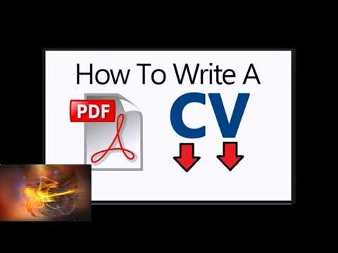 Tell Them  How To Write Cv Pdf