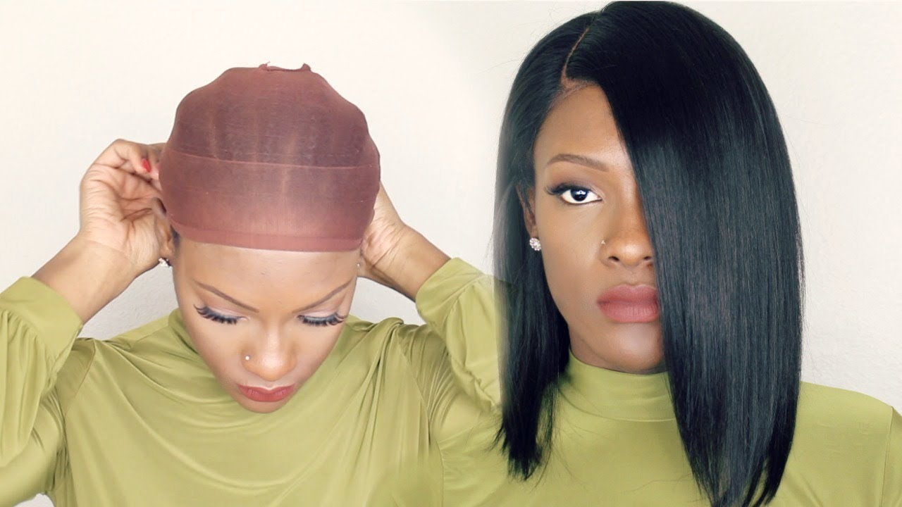 How to wear a Wig   with No GLUE NO GEL   - YouTube 793b4b741