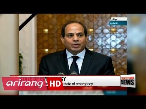 Egyptian Coptic church bombings kill at least 44