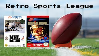 Tecmo Super Bowl / NHL 94 - Retro Sports League - DMen Tap Chicago