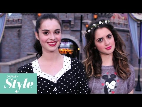 Laura and Vanessa Marano  Off Their Disney Style