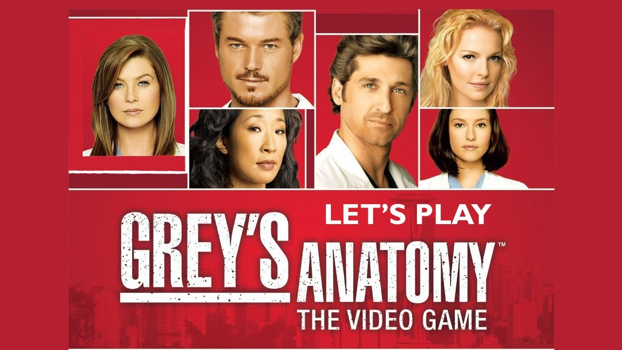 Lets Play Greys Anatomy Part 1 Beginning The First Episode