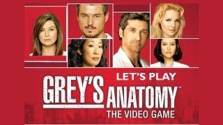 Let's Play Grey's Anatomy Part 1 'Beginning the First Episode' (Gameplay/Walkthrough) [Wii]