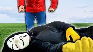 HACKER DEFEATED by CWC in Real Life & ROBLOX (Project Zorgo at 3AM for 24 Hours)