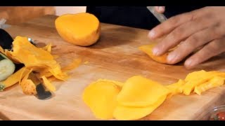How to Peel & Cut Mangoes - Tips For Properly Slicing Mango