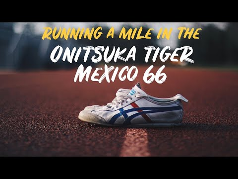 Running A MILE In Asics Onitsuka Tiger Mexico 66 -- RUN TEST