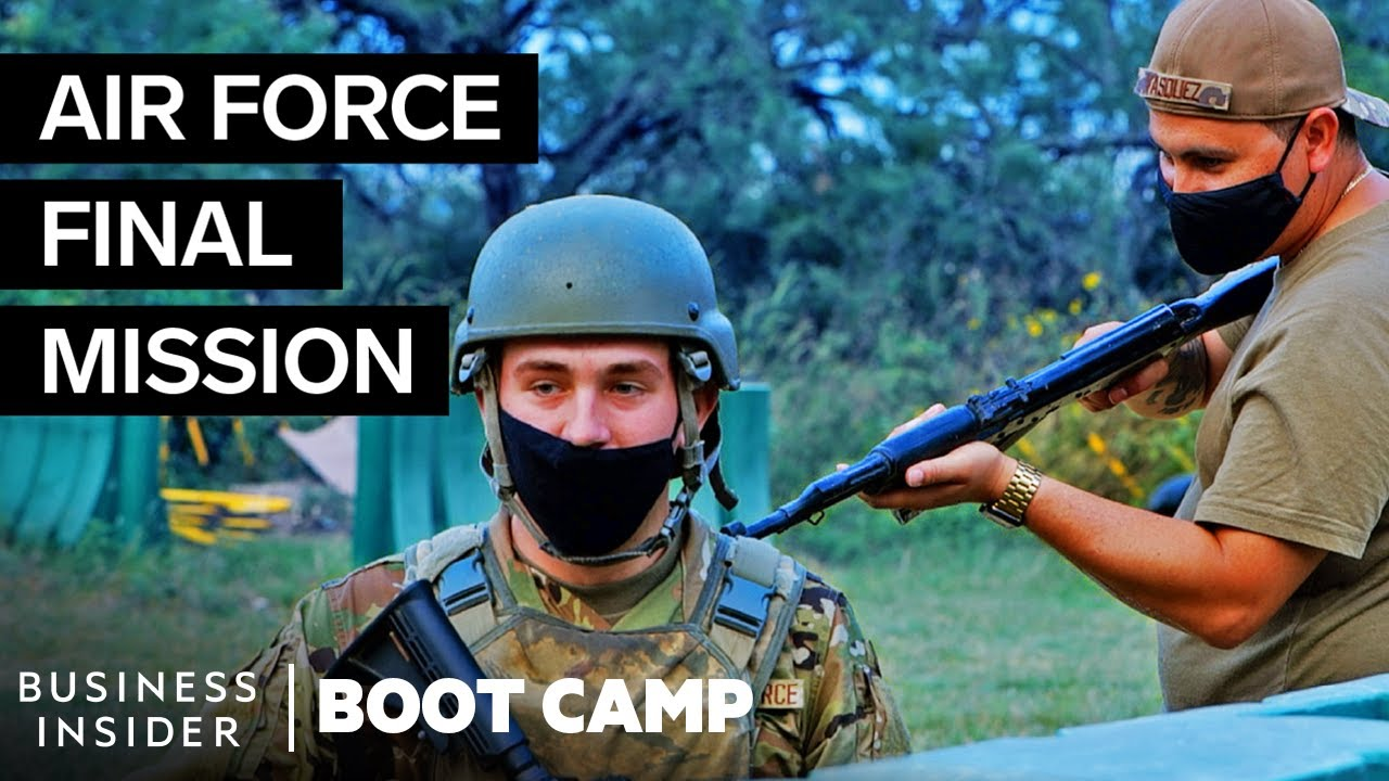 The Final Mission Air Force Trainees Face In Boot Camp | Boot Camp