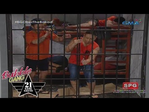 Bubble Gang: Full force na pagtakas