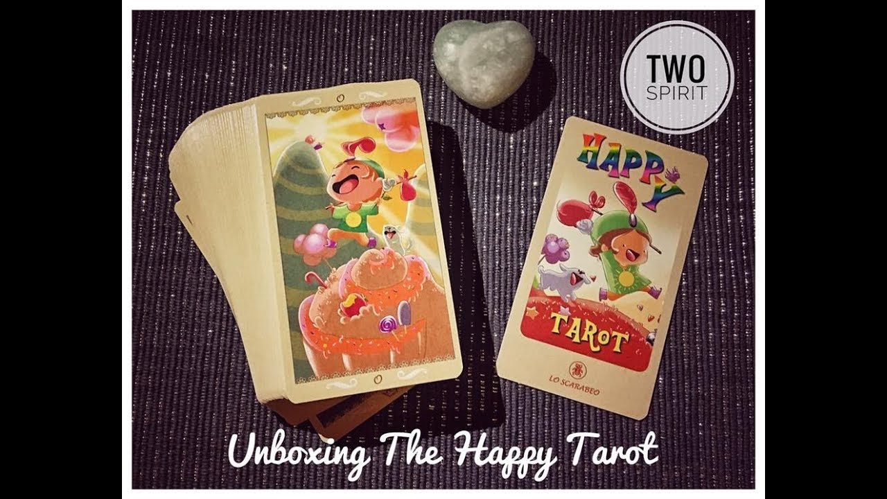 Unboxing The Happy Tarot - The Hermit's Cave