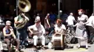 Street musicians of New Orleans