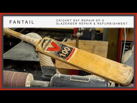 Cricket Bat Repair EP-9 - Slazenger Repair & Refurbishment