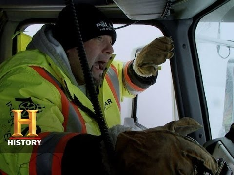 Ice Road Truckers: The Most Dangerous Crossing of Todd's Life (S9, E3) | History