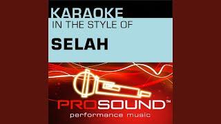Bless the Broken Road (Karaoke Instrumental Track) (In the style of Selah)