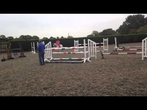 Shannon Daley training on kenny aka GRASSHOPPER with Adrian marsh