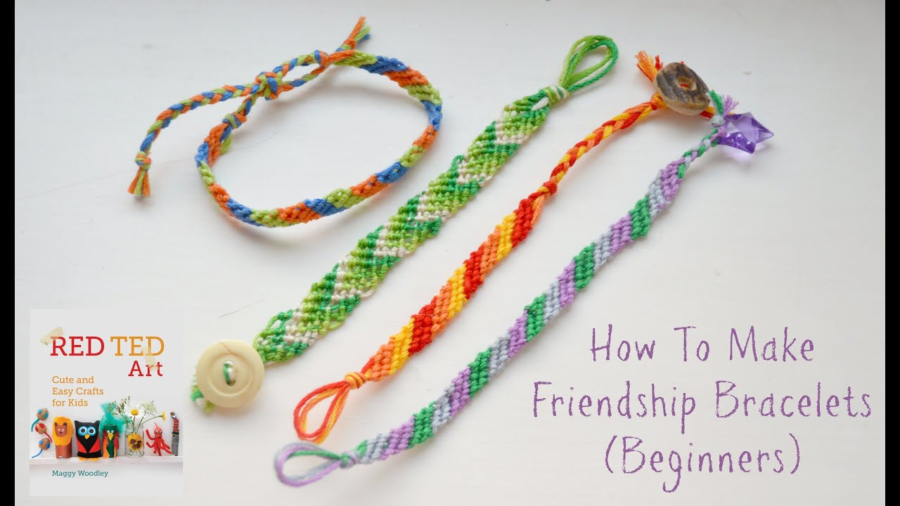 How To Make Diy Friendship Bracelets Beginners Diagonal Pattern