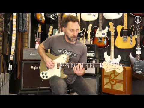 FENDER Telecaster Chris Shiflett Deluxe - guitare électrique