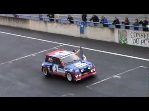 jean ragnotti renault 5 turbo 30 ans 1980 2010 circuit de charade youtube. Black Bedroom Furniture Sets. Home Design Ideas