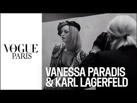 When Vanessa Paradis meets Karl Lagerfeld | VOGUE PARIS