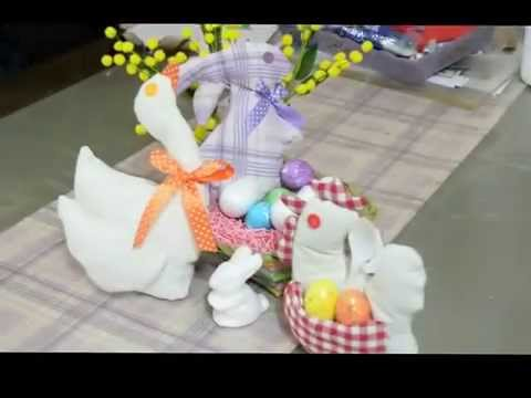 Tutorial cucito creativo coniglio pasquale fai da te for Fai da te creazioni