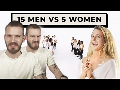 15 Men Vs 5 Women Is Cringe
