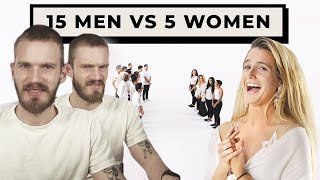 15 Men vs 5 Women is Cringe