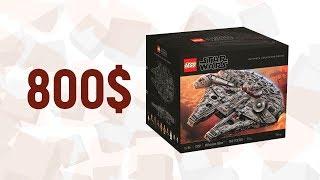 LEGO Star Wars 75192 Сокол Тысячелетия САМЫЙ БОЛЬШОЙ НАБОР ЛЕГО