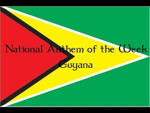 National Anthem of the Week 12-14-15 Guyana