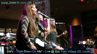 "James Ross @ SWV - ""Rain Down On Me"" - Live @ Ball Park Village (St. Louis) - www.Jross-tv.com"