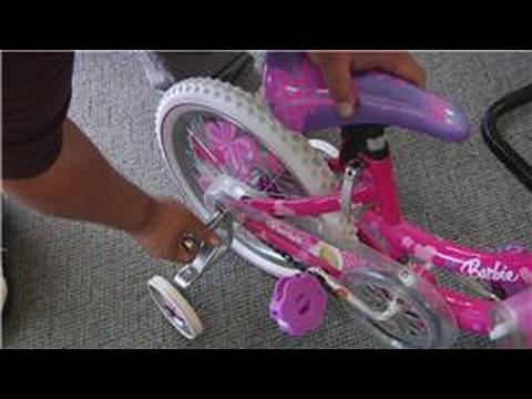 Bicycle Equipment : How to Attach Bicycle Training Wheels