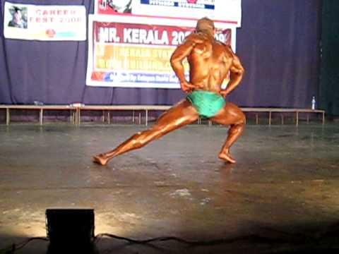 Best Mucis pose Mr Kerala 2008