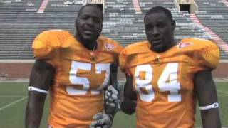 Scenes and outtakes from the Vols media day