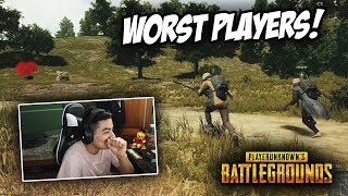 The WORST PLAYERS Ever in PUBG Xbox! (Xbox One X)