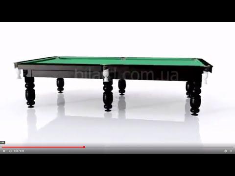 Стол-трансформер: обеденный легко превращается в бильярдный - YouTube