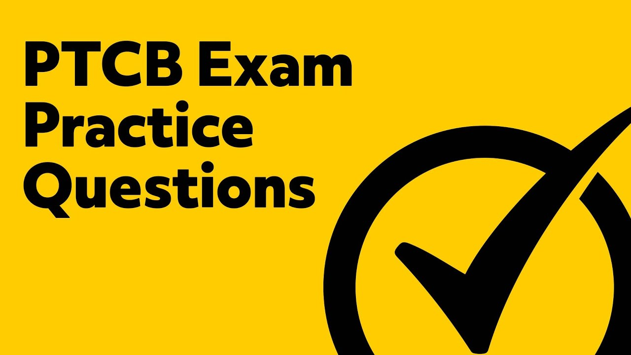 Ptcb Exam Review Questions Youtube