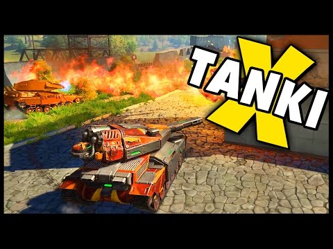 TANKI X - Free To Play Arcade Tank Game! Shaft & Thunder XT Gameplay - TANKI X Gameplay