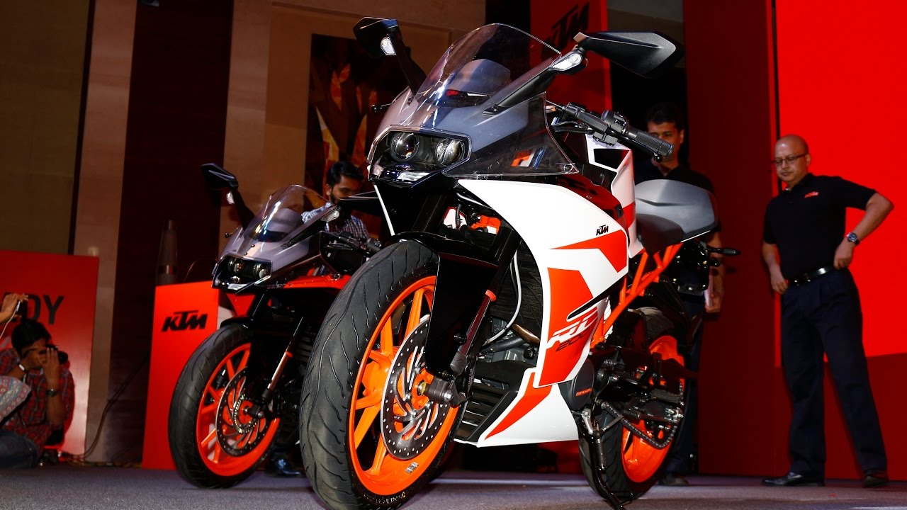 2017 ktm rc 200 & rc 390 launch - live | motorbeam - youtube