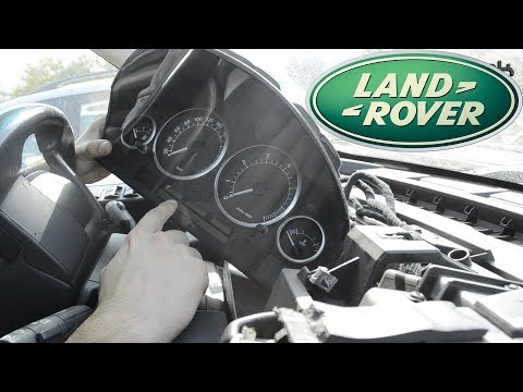How To Remove The Instrument Cluster On Land Rover