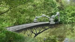 Prepare to have your mind blown as bridge is 3D-printed over Dutch canal