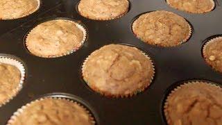 Banana Muffins (healthy & Delicious!)