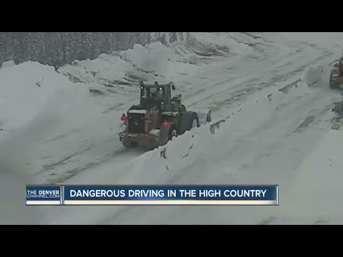 I-70 reopens after avalanche mitigation, crashes