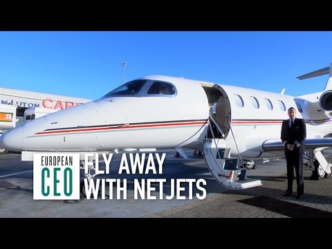 Marine Eugene on private jets | NetJets | European CEO Videos