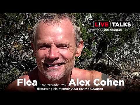 Flea in conversation with Alex Cohen at Live Talks Los Angeles