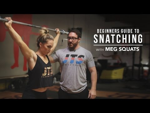 Beginners Guide to Snatching with Meg Squats | JTSstrength.com