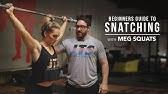 Beginners Guide to Snatching with Meg SquatsJTSstrength.com