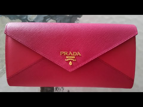 prada crossbody satchel - Prada Saffiano Wallet 2014 Holiday Collection - YouTube