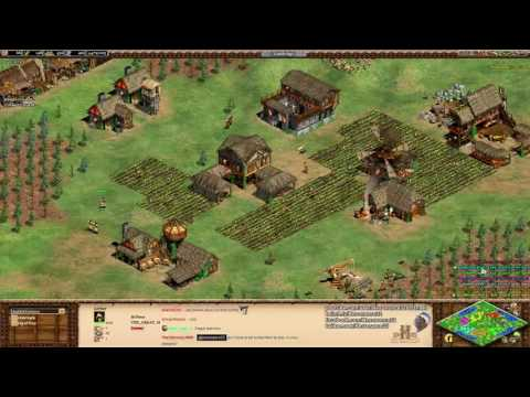 Aoe2 HD: FFA King of the Hill (Budapest, Close Game)