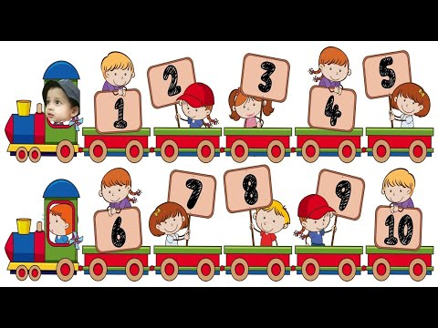 learn to count 1 to 10 | Learn To Count preschool and kindergarten